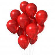 15 красных шаров