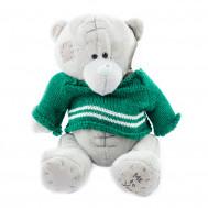 Мишка в свитере 25 см.