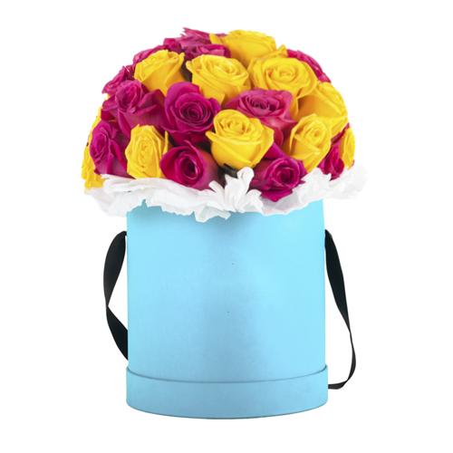 """Коробка цветов """"Пиано"""""""