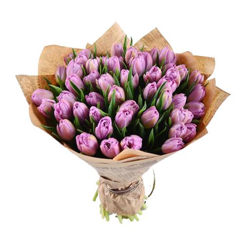 """Тюльпаны """"Мысли о тебе"""""""